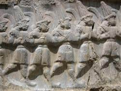 Stone Relief Of Gods